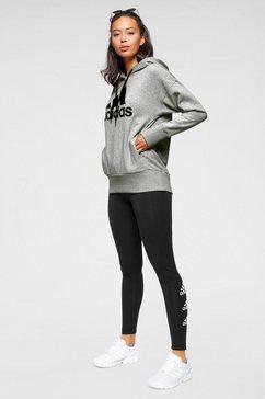 adidas performance hoodie »batch of sport long hoody« grijs