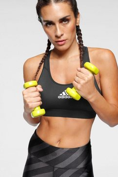 adidas performance sport-bh »don`t rest alphaskin padded bra« zwart
