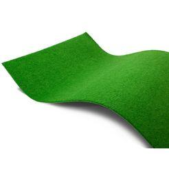 primaflor-ideen in textil outdoorkleed »garden b1«, primaflor-ideen in textil, rechteckig, hoehe 5 mm groen