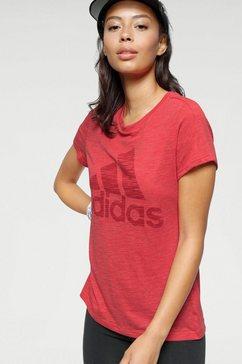 adidas performance t-shirt »univ tee 1 w« rood