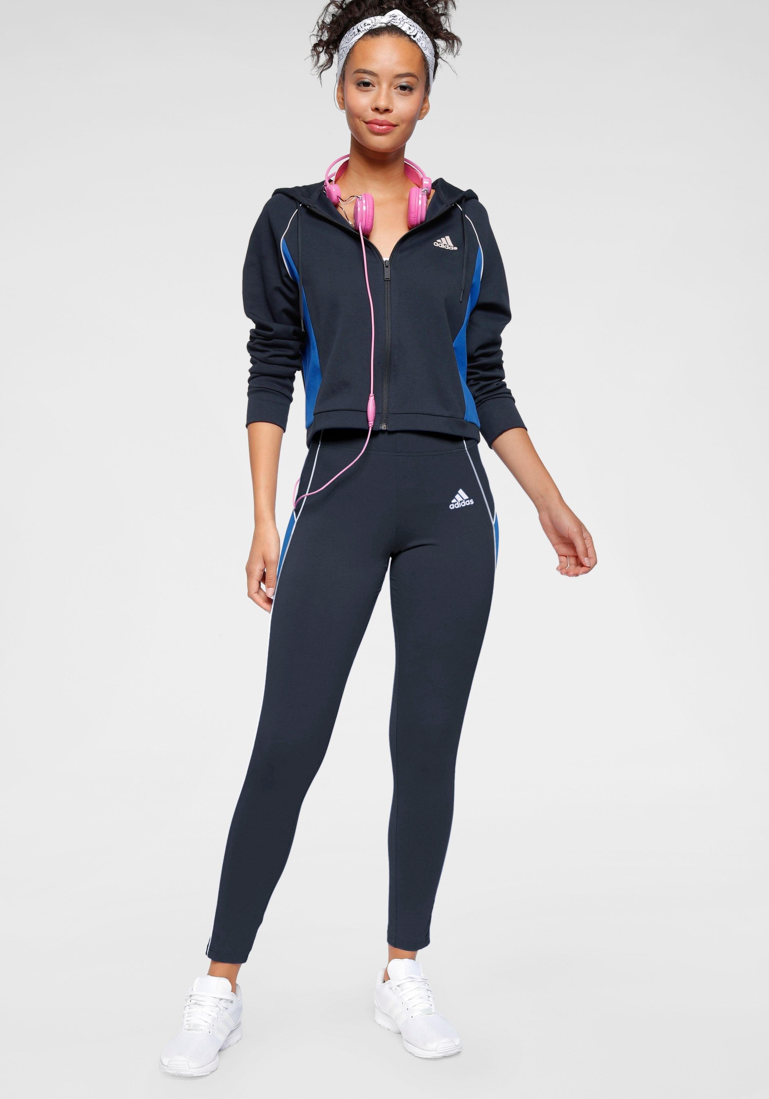 adidas Performance joggingpak »TRACKSUIT HOODY & TIGHT« bij OTTO online kopen
