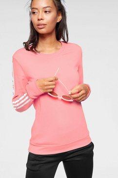 adidas performance sweatshirt »block crew« roze
