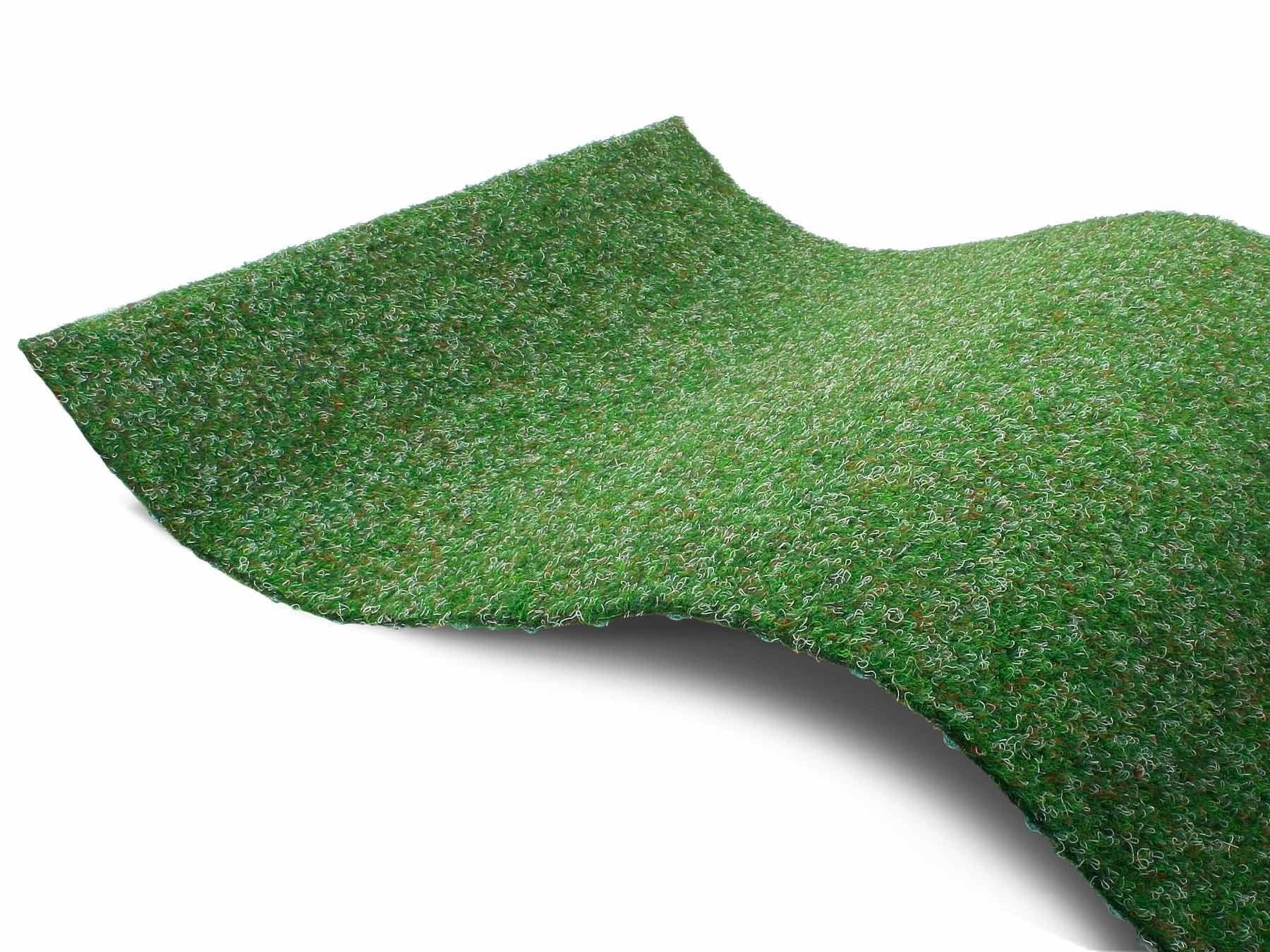 Primaflor-Ideen in Textil Kunstgras Green Kunstgras-vloerkleed, groen, met noppen, slijtvast, weerbestendig, geschikt voor binnen en buiten - gratis ruilen op otto.nl