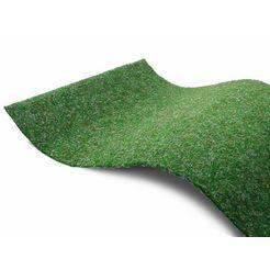 primaflor-ideen in textil outdoorkleed »green«, primaflor-ideen in textil, rechteckig, hoehe 7,5 mm groen