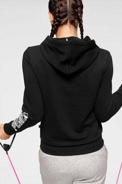 puma hoodie »ka hoody« zwart