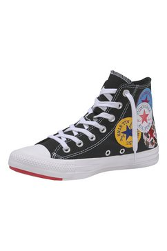 converse sneakers »chuck taylor all star hi twisted« zwart