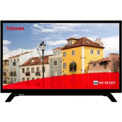toshiba 32w2963dg led-tv (80 cm - 32 inch), hd-ready, smart-tv zwart
