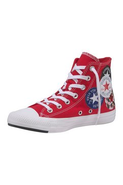 converse sneakers »chuck taylor all star hi twisted« rood