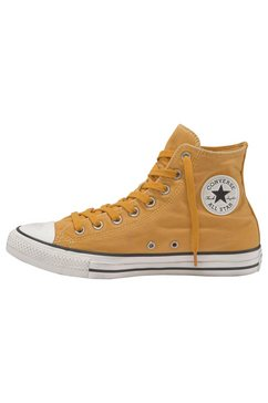converse sneakers »chuck taylor all star hi washed out« geel
