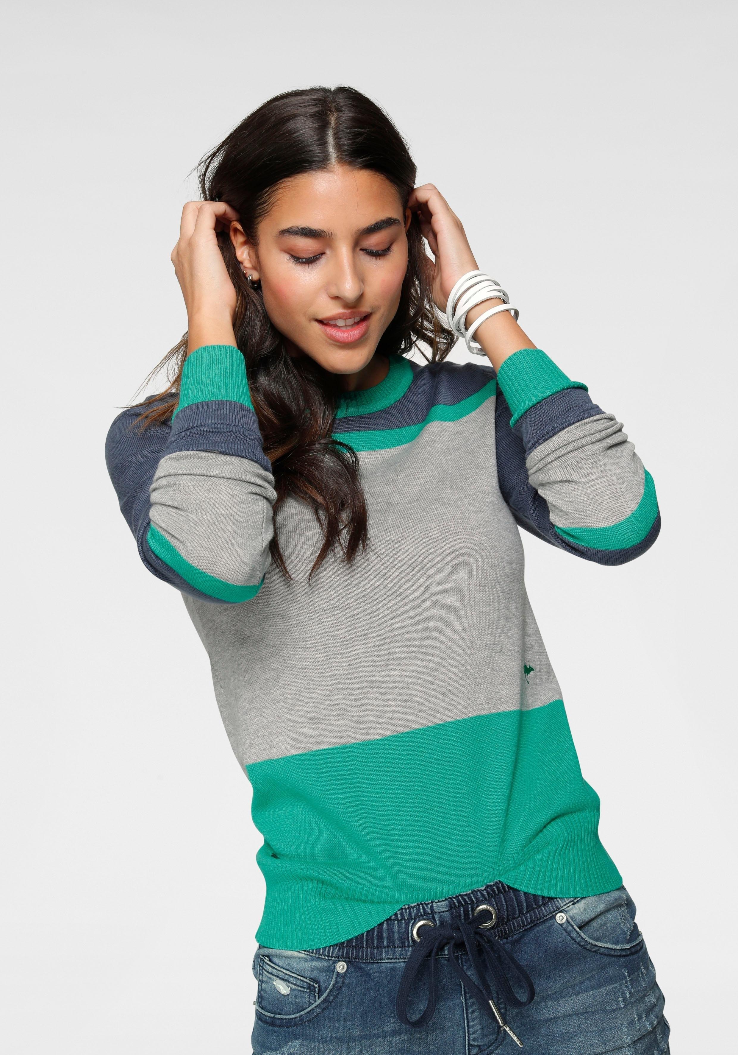 KangaROOS gebreide trui in kleurrijke streep-look voordelig en veilig online kopen