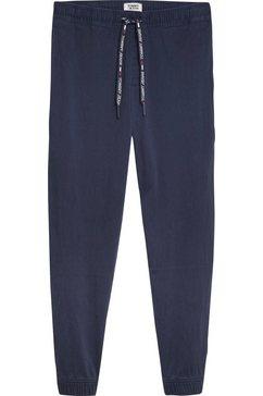 tommy jeans jogpants »tjm branded jog pant« blauw