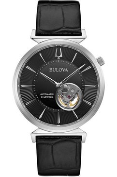 bulova automatisch horloge »96a234« zwart