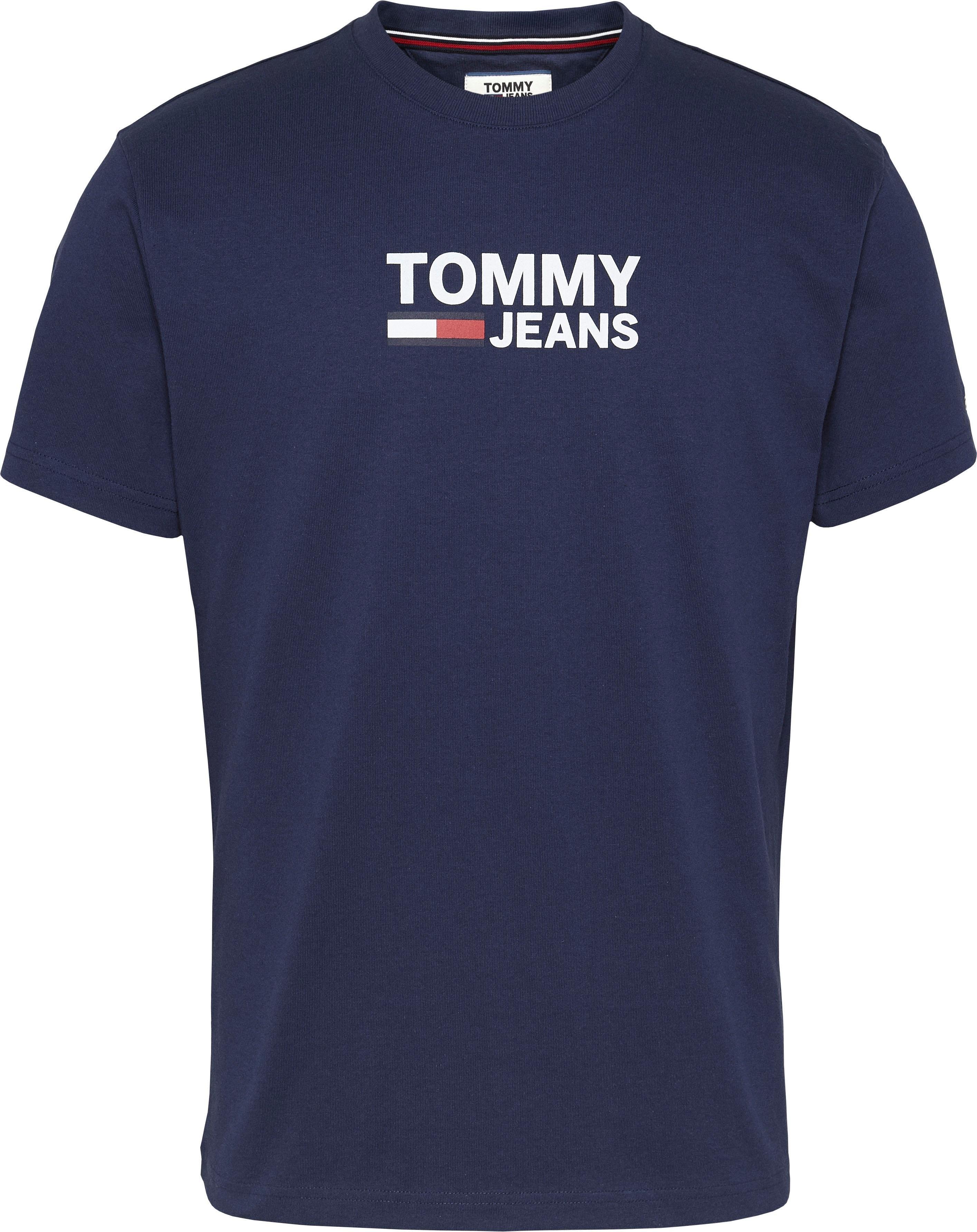 Tommy Jeans T-shirt »TJM TOMMY CLASSICS LOGO TEE« nu online kopen bij OTTO