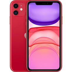 apple iphone 11  - 128 gb rood