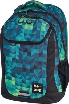 herlitz schoolrugzak »be.bag be.active, magic triangle« multicolor