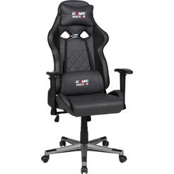 "duo collection gamestoel ""game-rocker g-20"" zwart"