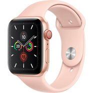 apple watch series 5 44mm gps + cellular met sportarmband goud