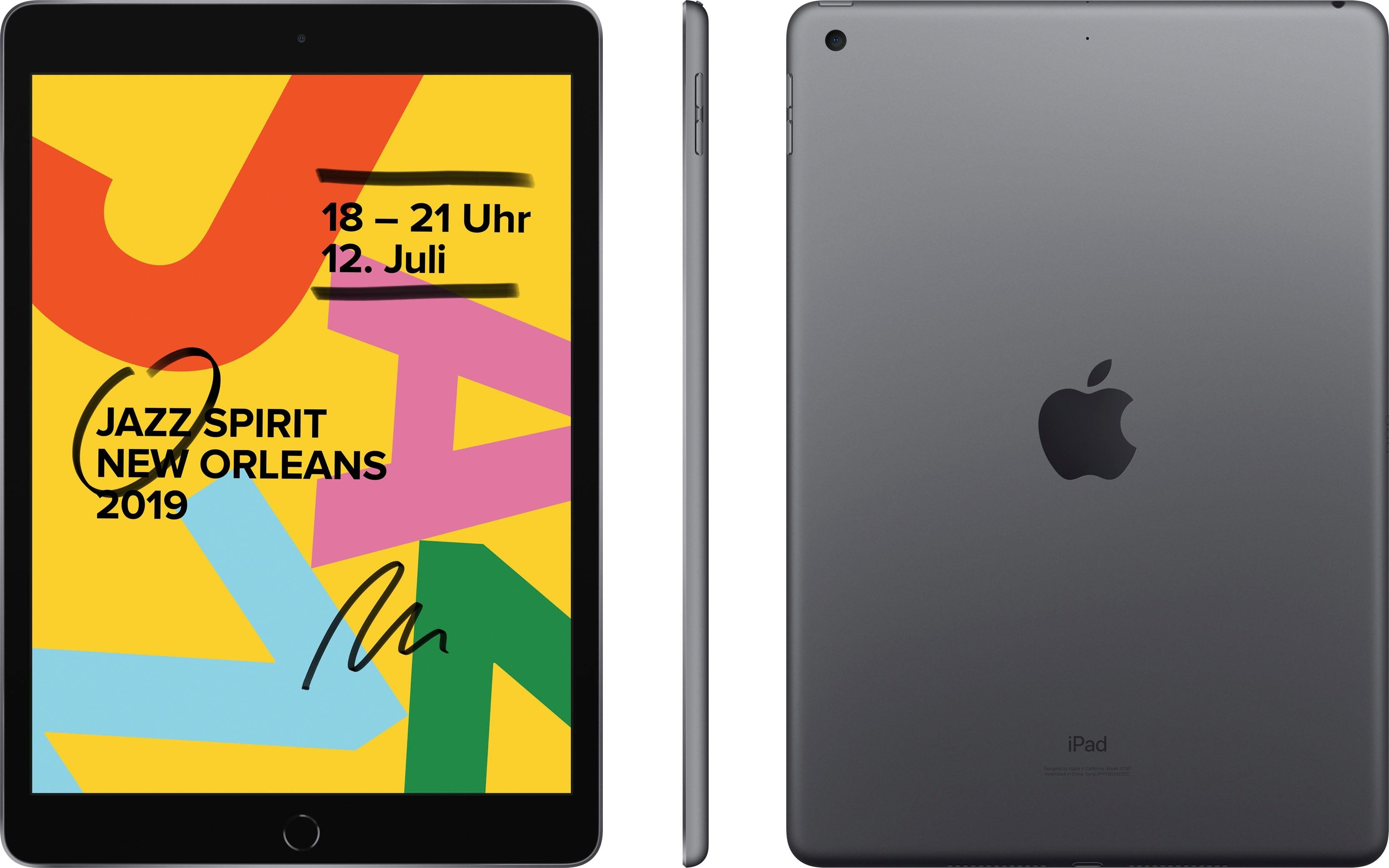 Apple »10.2 iPad Wi-Fi 128GB (2019)« Tablet (10,2