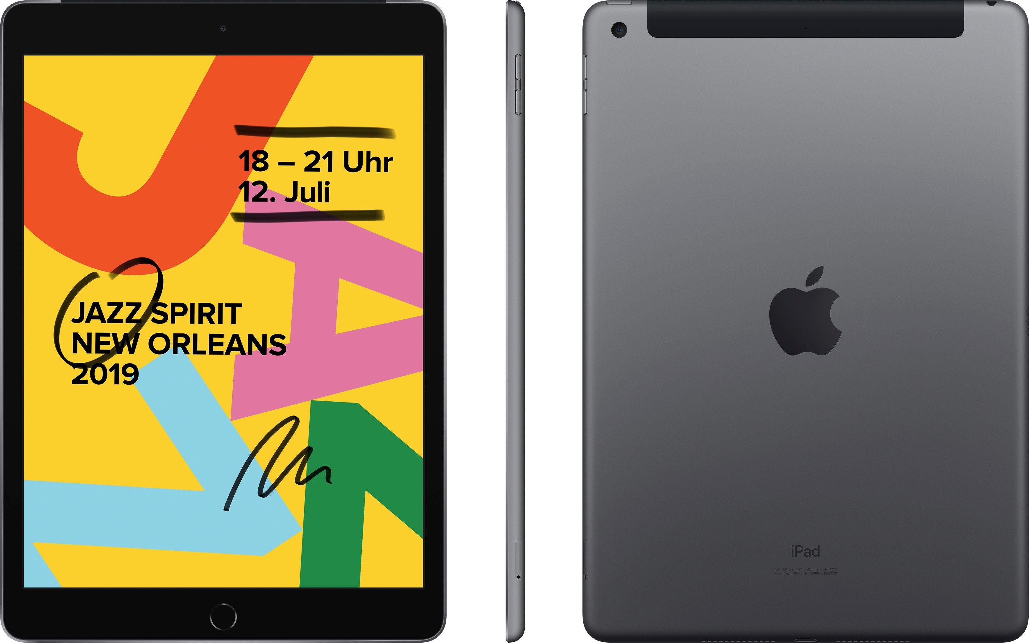 Apple »10.2 iPad Wi-Fi Cellular (2019)« Tablet (10,2