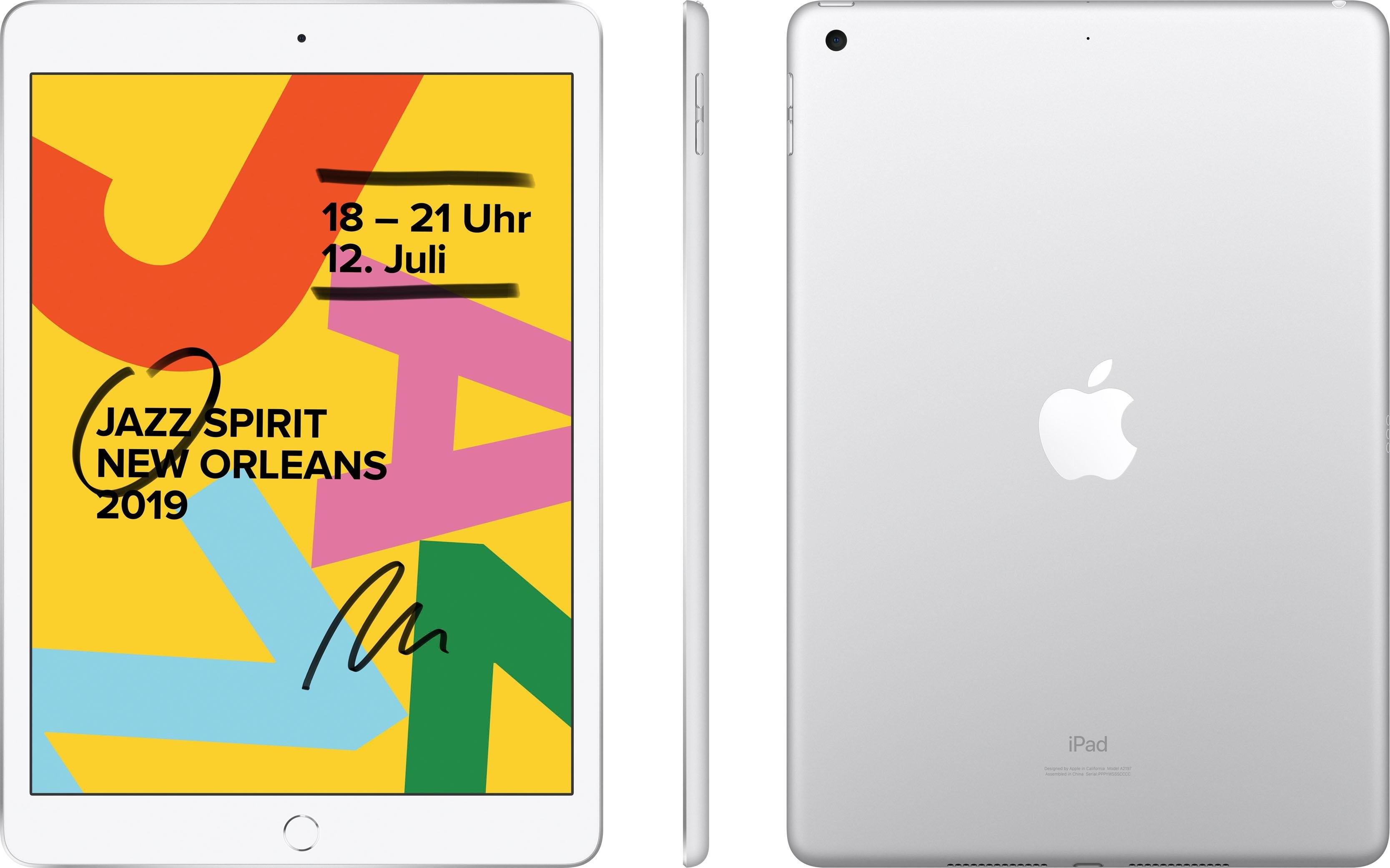 Apple »10.2 iPad Wi-Fi 128GB (2019)« Tablet (10,2