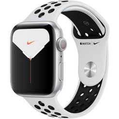 apple watch series 5 nike 44mm gps met nike sportarmband zilver