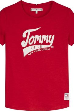 tommy hilfiger t-shirt »1985 graphic« rood