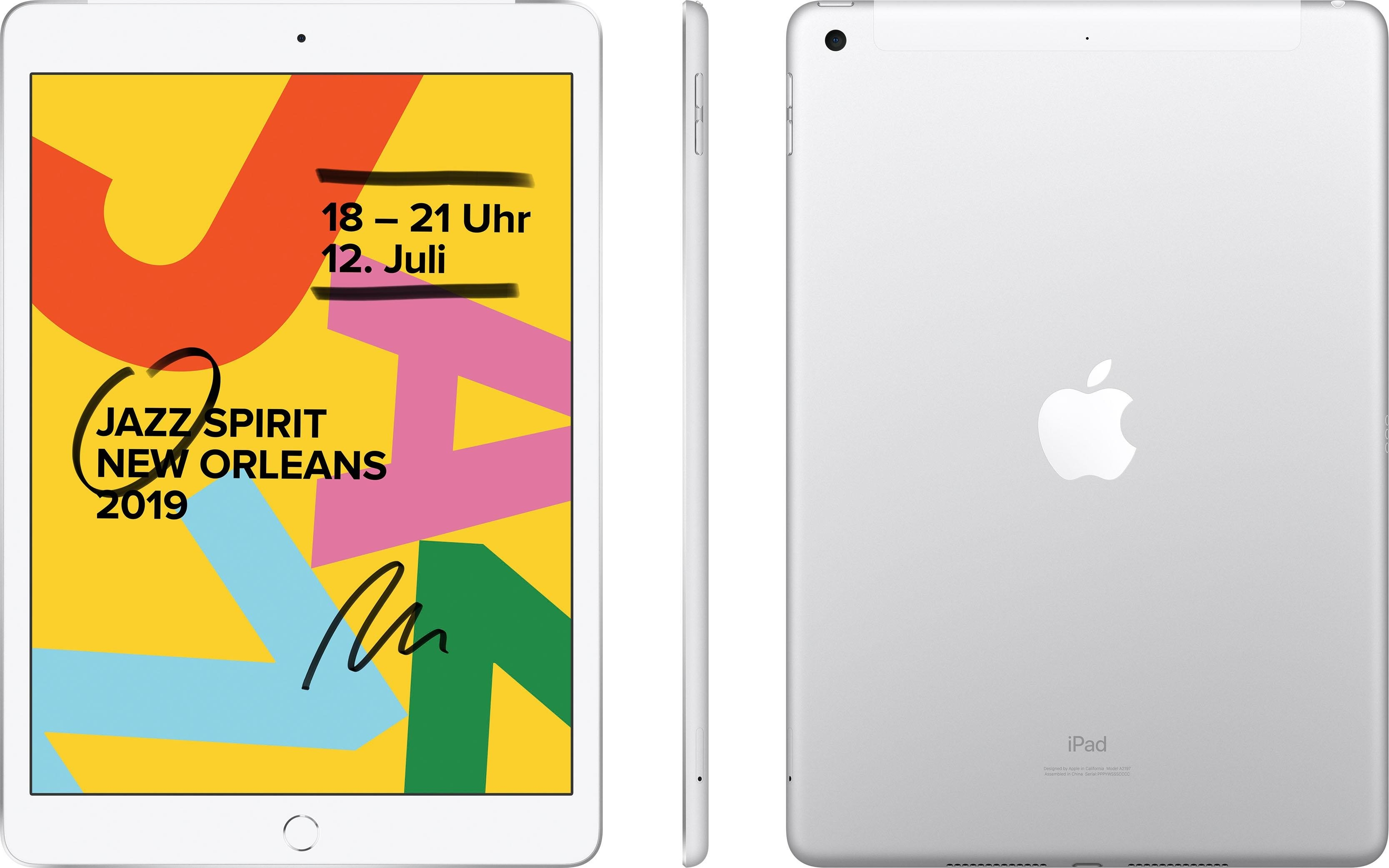 Apple »10.2 iPad Wi-Fi Cellular 32GB (2019)« Tablet (10,2