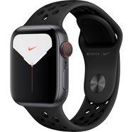 apple watch series 5 40mm nike gps + cellular met nike sportarmband grijs
