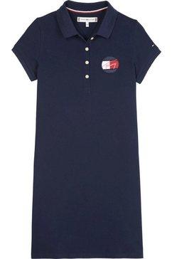 tommy hilfiger zomerjurk »essential polo dress« blauw