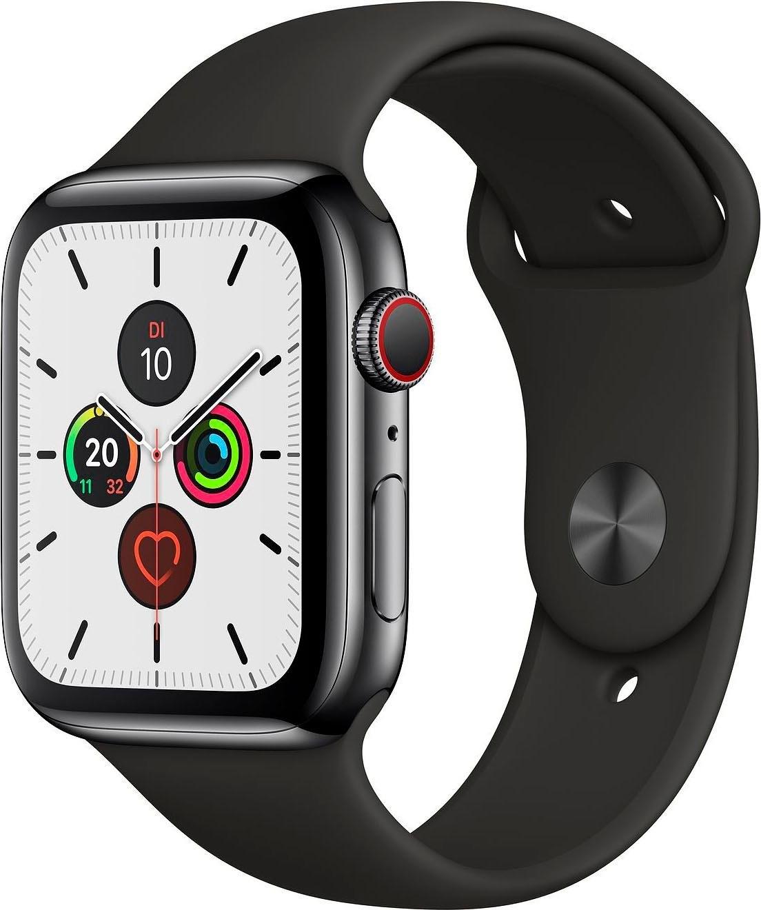 Apple Watch Series 5 44mm GPS + Cellular met Sportarmband goedkoop op otto.nl kopen