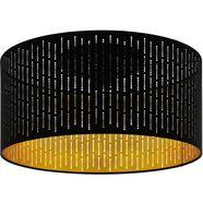 eglo plafondlamp »varillas«, zwart