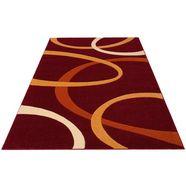 vloerkleed, »bill«, my home, rechthoekig, hoogte 10 mm, machinaal geweven rood