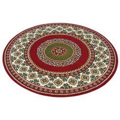 vloerkleed, rond, my home, »shari«, hoogte 7 mm, geweven rood