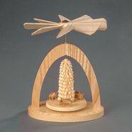 albin preissler kerstpiramide warmtemobiel - wildezwijnen-biggetjes beige