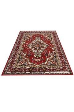 delavita vloerkleed orintaals orint-look, woonkamer rood