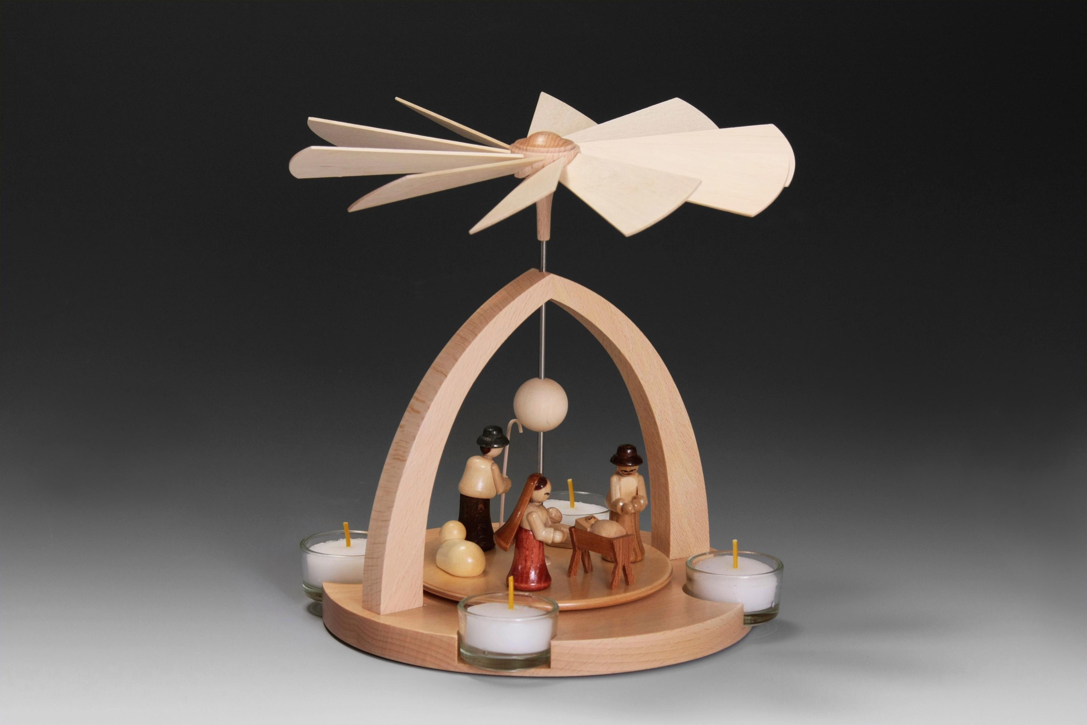Albin Preissler kerstpiramide Tafelpyramide - de geboorte van Jezus traditioneel veilig op otto.nl kopen