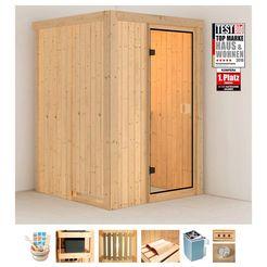 konifera sauna »linda« beige