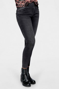 only push-up jeans »daisy« zwart