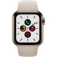 apple watch series 5 40mm gps + cellular met sportarmband goud