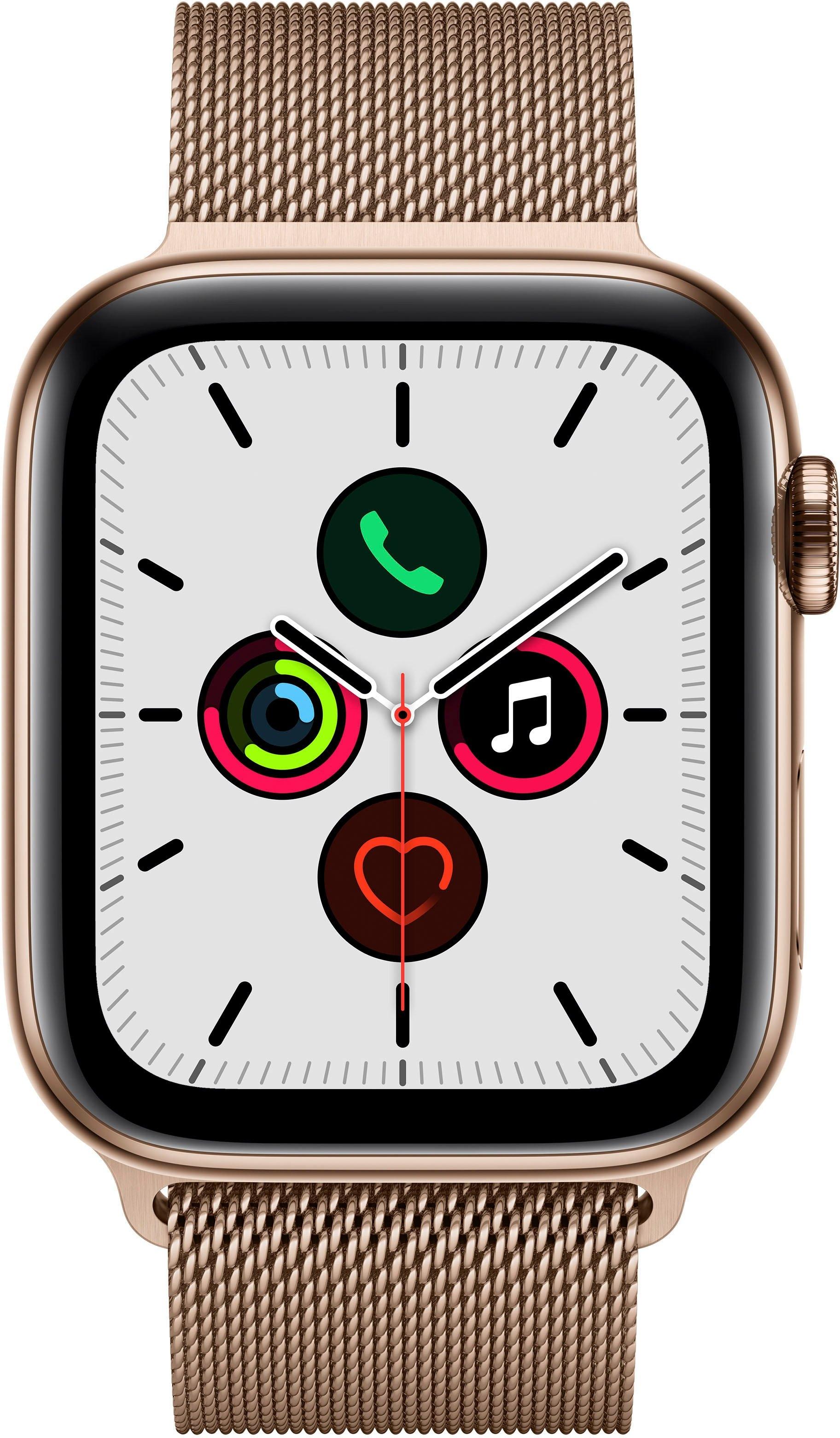 Apple Watch Series 5 44mm GPS Cellular Milanaise Armband online kopen op otto.nl