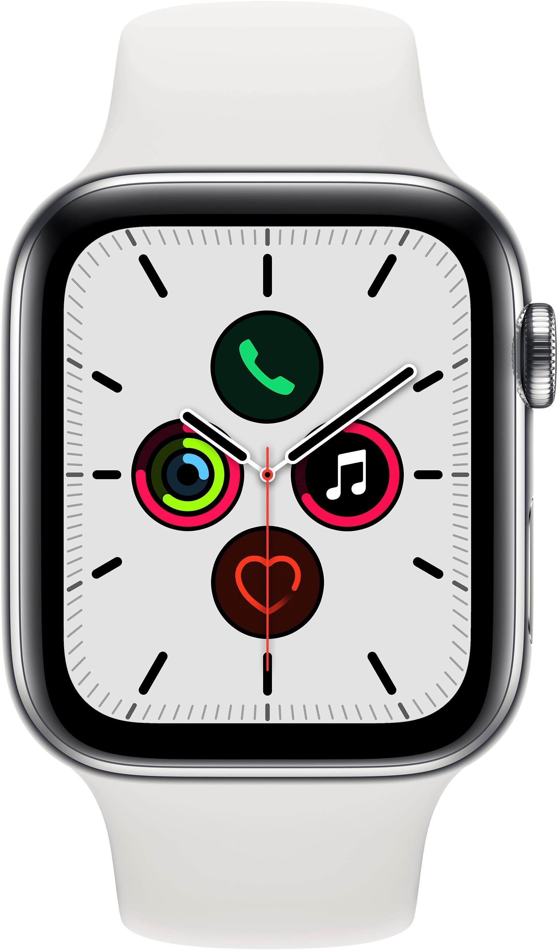 Apple Watch Series 5 44mm GPS + Cellular met Sportarmband voordelig en veilig online kopen