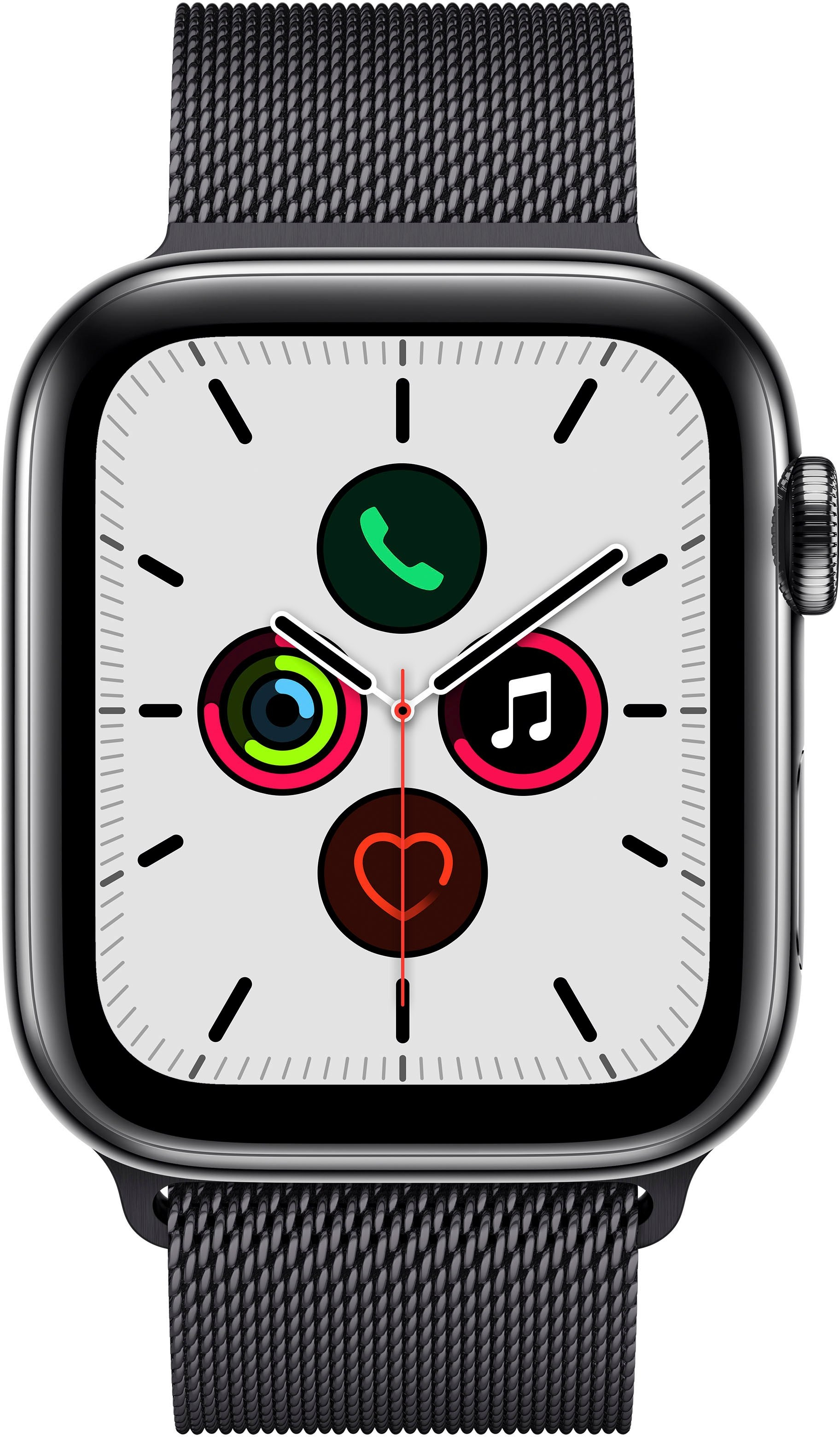 Apple Watch Series 5 44mm GPS + Cellular met Milanaise Armband nu online bestellen
