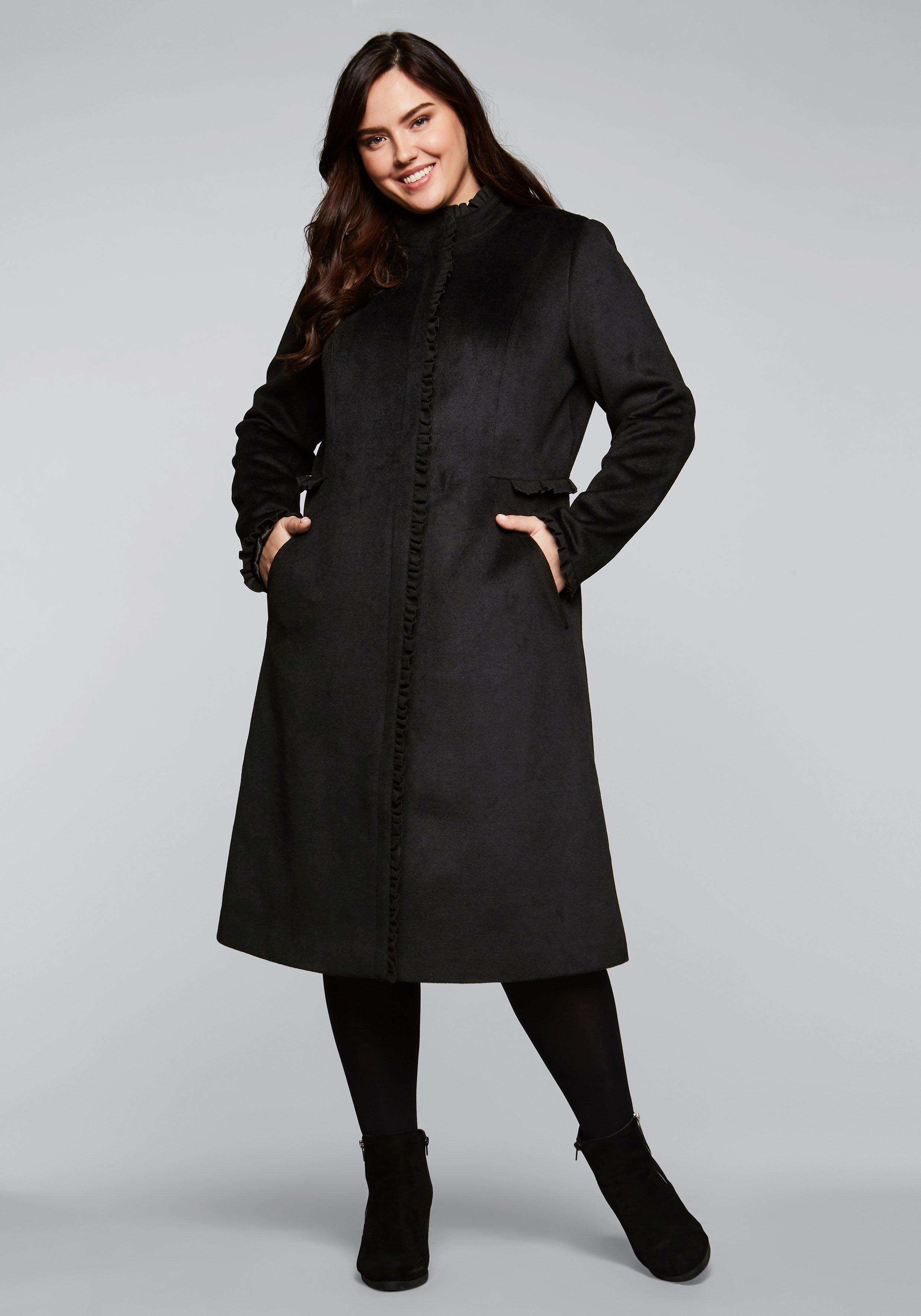 Sheego lange jas in de webshop van OTTO kopen