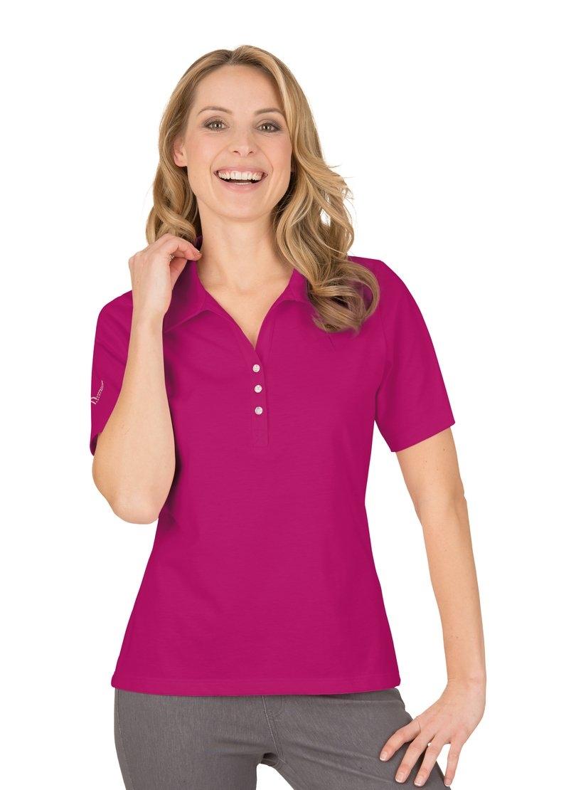 Trigema Poloshirt met Swarovski® kristallen nu online kopen bij OTTO