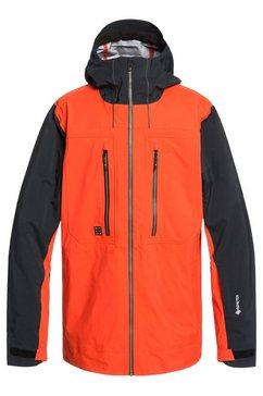 quiksilver snowboardjack »mamatus 3l gore-tex« oranje