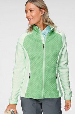 cmp tricot-fleecejack groen