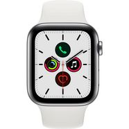 apple watch series 5 44mm gps + cellular met sportarmband wit