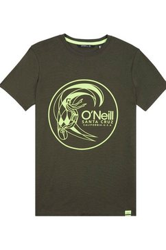 o'neill t-shirt »lb circle surfer t-shirt« groen