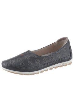 mustang shoes ballerina's blauw