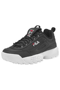 fila sneakers »disruptor low« zwart
